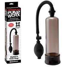 Sviluppatore a pompa per il pene Beginner Power Pump Black ingrandimento erotic