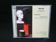 Gorecki - Symphony No 3. Symphony of Sorrowful Songs - NEAR MINT - NEW CASE!!!!