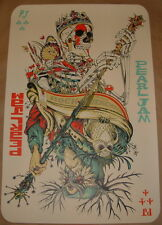 Pearl Jam Tyler Stout Jeff Soto Werchter Belgium Concert Poster Print 2012