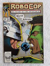 RoboCop #9 (Nov 1990, Marvel) Vol #1 VF+