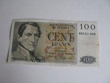 Billet,Belgique-100 francs 1955.
