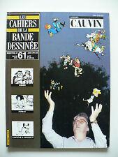 Magazine (très bel état) - Les cahiers de la bande dessinée 61 (Cauvin)