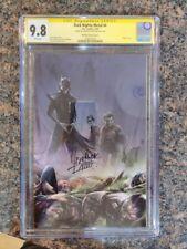 DC Dark Nights Metal #4 CGC 9.8 Signature Series Mattina Virgin Variant Batman