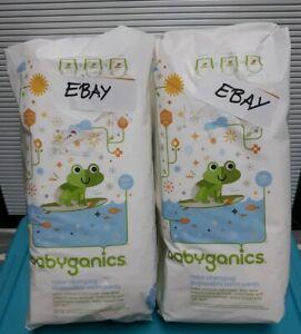 2 (Two) Babyganics Color Changing Disposable Swim Pants - S/M/L (10 pants/pack)