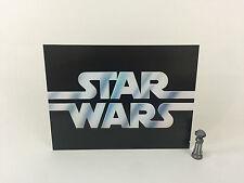 "Star Wars large logo backdrop For Display 16"" x 12"""