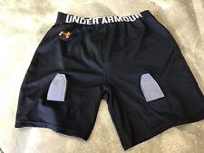 New Under Armour Hockey Under Shorts, Black, Large Regular