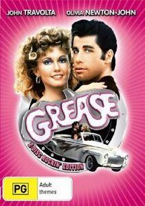 GREASE DVD 2 DISC ROCKIN'EDITION JOHN TRAVOLTA REGION 4 NEW AND SEALED