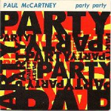 "PAUL McCARTNEY Party Party Scarce 1989 UK 1-track 3"" Cd"