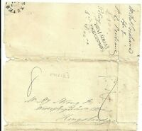 1831 KINGSBRIDGE PENNY POST ON PART INSURANCE POLICY - EXETER TO HENRY STRONG