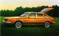 Old Print.  1980 Pontiac Phoenix LJ 5-Door Hatchback Auto