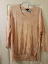 Torrid Heart Sweater Plus Size 00 Large Blush Pink NWOT