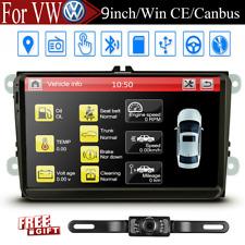 9inch Car Video Player GPS Radio Stereo For VW Jetta Passat EOS Amarok GTI MK5/6