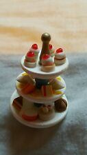 Dolls house furniture cake stand