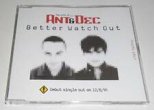 THE CULT OF ... ANT & DEC - BETTER WATCH OUT - 1996 UK 1 TRACK PROMO CD SINGLE