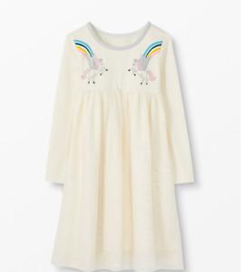 NEW RRP £54.60 Hanna Anderson Unicorn Art Dress                            (U22)