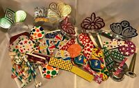 Lot of 50+ Vintage New Years Eve Noisemakers Tin Litho US Metal Toy Mfg Co