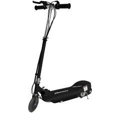 Niños Scooter Eléctrico Negro Escooter 24 V batería de juguete para niños rápido paseo en bicicleta