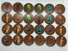 Game Parts Pieces Tikal 2000 Ravensburger 24 Round Treasure Wafers