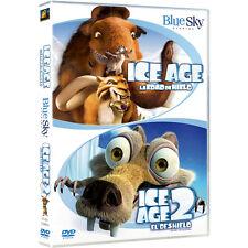 PELICULA DVD PACK ICE AGE 1 LA EDAD DE HIELO + ICE AGE 2 EL DESHIELO PRECINTADA