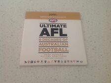 AFL FOOTBAL 6 DECADES HIGHLIGHTS, VARGAIN PRICE TOYOTA, HAWKS, SWABS, PIES,ARB