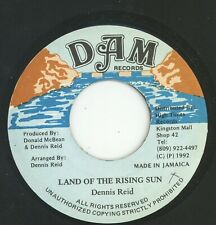 """"""" LAND OF THE RISING SUN."""" dennis reid. D A M RECORDS 7in 1992."""