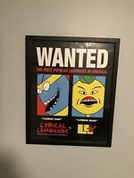 Lyrical Lemonade WANTED Poster Brand New 16x20