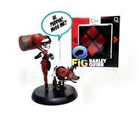 HARLEY QUINN Q-Figures - Vinyl Figur - Suicide Squad - Limited Lootcrate