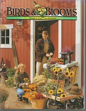 Bird & Blooms October November 2000 Project FeederWatch/Wild Turkeys/Calendula