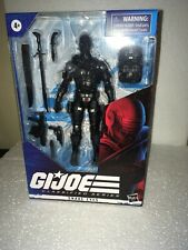 Hasbro 6? GI Joe Classified Wave 1 SNAKE EYES Figure In Hand & Near Mint
