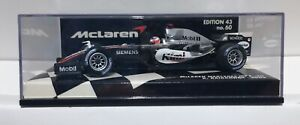 MiniChamps 1:43 McLaren Mercedes MP4-20 2005 Car #9 F1 K Raikkonen Edition 43/60