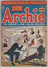 Archie Comics #20 G/VG