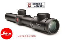 Ottica da puntamento cannocchiale mirino Leica Magnus 1-6.3x24i caccia poligono