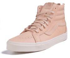 123783c852 VANS Sk8 Hi Reissue Zip Veggie Tan Leather Women s Shoes 9