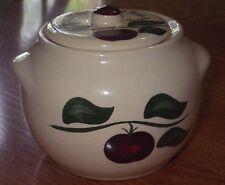 Watt Pottery Bean Pot  Apple 1999 Collectors Association St Cloud Minnesota