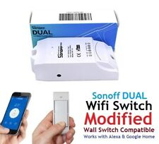 Wall Switch Compatible Sonoff Dual 2Ch Wifi Smart Switch