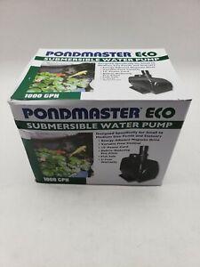 PondMaster Eco Pond Waterfall Pump, 1,000 Gph