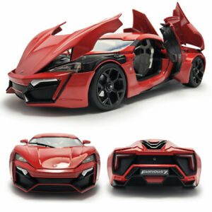 1/18 Fast & Furious 7 Lykan Hypersport Model Car Diecast Vehicle Gift Collection