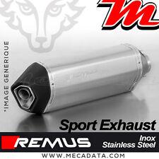 Ligne complète échappement Remus Sport Inox sans Cat Vespa GTS 125 (2017+)