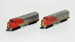 Minitrix / Trix 2951 Diesellok EMD F9 Santa Fe 510 A-Unit + B-Unit 2-teilig KK57