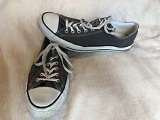 Converse Mens SZ 15 Chuck Taylor Low All Star Charcoal/Gray AJ794 ""
