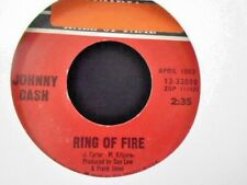 "JOHNNY CASH "" RING OF FIRE  "" EX+ COND."