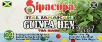 3 guinea hen weed sipacupa ital jamaican best tea bag aka anamu freshly packed