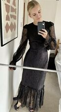 The vampires wife x H&M full length Maxi lace dress Uk 14 SOLD OUT New Bnwt