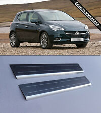 Vauxhall Corsa E (Released 2014) Stainless Sill Protectors / Kick Plates