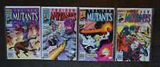 The New Mutants #44,#48,#51,#53 (1986, Marvel 1st Series) Lot of 4 comics FN/VF