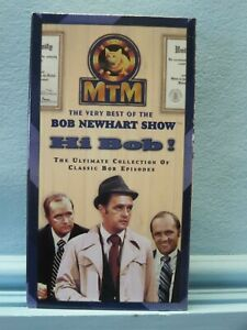 """Bob Newhart- in """"The Bob Newhart"""" 2 VHS tape set - 6 different TV epsiodes"""