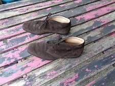 Tod's Leder Schuhe Stiefeletten Größe 36,5 Braun Top