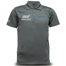 Genuine Subaru Logo Car Drift Levorg Streetwear Racing Grey Men Polo T-Shirt