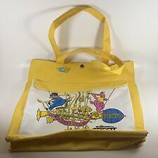 Vintage Walt Disney World Epcot Center Yellow Bag Handbag