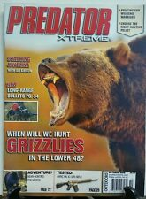 Predator Xtreme Oct 2016 When Will We Hunt Grizzlies Lower 48 FREE SHIPPING sb
